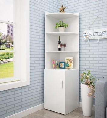 F04-簡約客廳牆角櫃