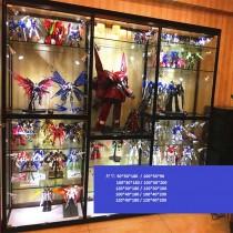 F02-玻璃玩具櫃 (多款尺寸及配件)